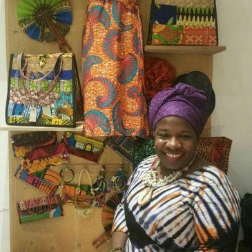 African fabric, batik print, afrocentric clothes