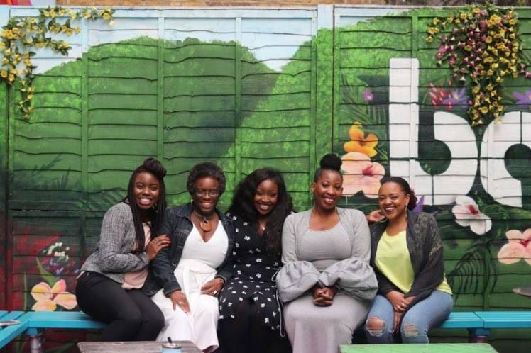 Sister circle - Missy, Elise, Lovette, Debbie, Mary